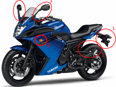 Yamaha XJ6 Diversion F erste Verbesserungen